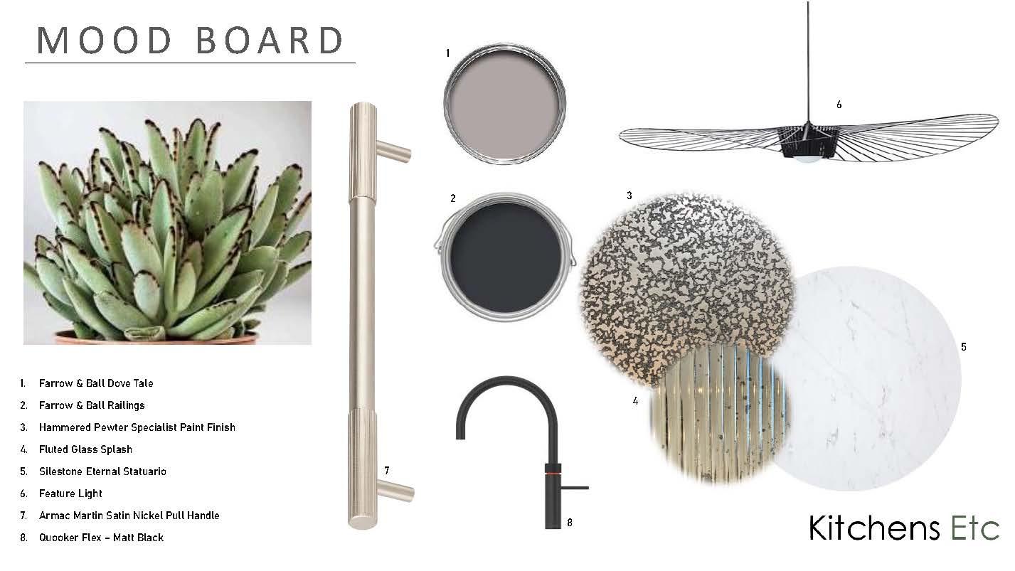 Beautiful Bespoke Mood Boards