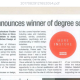 She's a winner – exciting news